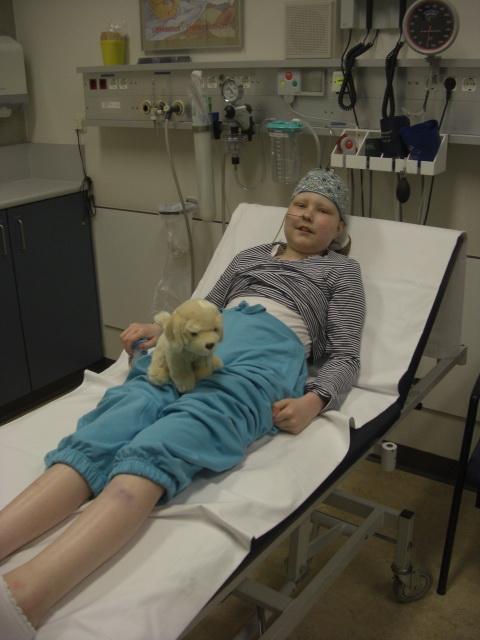 Eva direct weer fitter na de operatie, onvoorstelbaar hoe snel haar vermoeide lichaam zich weer hersteld